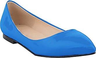 Damen Sneaker Low-Tops, blau - himmelblau - Größe: 40 CFP