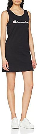 Champion Dress-American Classics, Vestido para Mujer, Negro (Nbk), X-Large