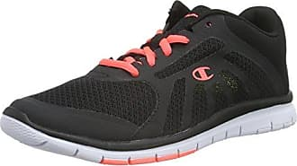 Champion Low Cut Shoe Alpha, Chaussures de Running Compétition Femme,Bleu (Navy/Lime Bs518), 40.5