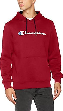 Won Hundred Detroit, Sweat-Shirt à Capuche Homme, Red (Rio Red), Large
