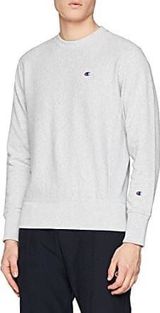 CHAMPION REVERSE WEAVE Crewneck T-Shirt 110472, Camiseta para Mujer, Gris (Loxgm Em004), Medium