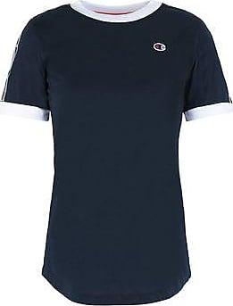 TAPED LOGO CREWNECK T-SHIRT - TOPWEAR - T-shirts CHAMPION REVERSE WEAVE