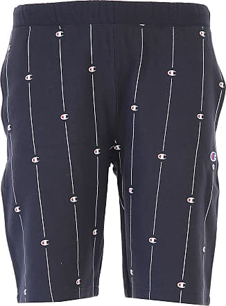 Pants for Men On Sale, Navy Blue, Cotton, 2017, L S Champion