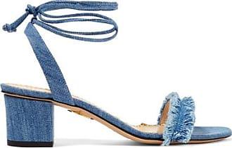 Sandales En Jean Effilé Tara - Bleu clairCharlotte Olympia