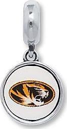Charmed Memories University of Missouri Sterling Silver Charm