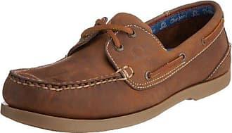 Chatham Commodore, Chaussures bateau homme - - Marron (Marron foncé), 40