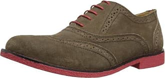Chatham Marine Carnaby - Zapatos de cordones, color Brown/Red, talla 7 UK F