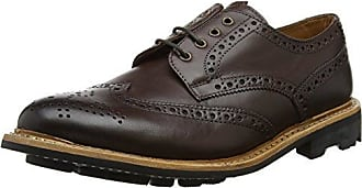 Eaton, Brogues Homme, Marron (Dark Brown 001), 43 EUChatham Marine