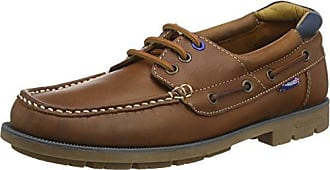 Chatham KOS, Zapatos de Cordones Brogue para Hombre, Azul (Navy 005), 40 EU