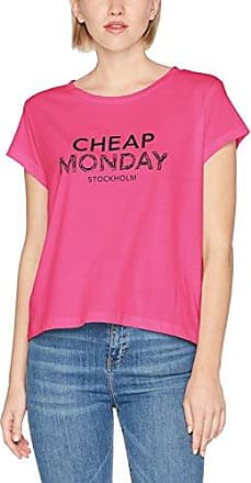 Cheap Monday Left Top, Camiseta para Mujer, Rosa (Pale Pink), 34(Tamaño Fabricante: X-Small)