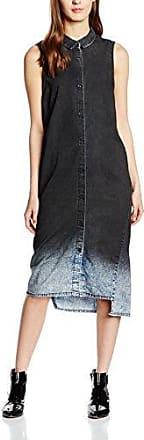 Womens Assy Liquid Striped Long Sleeve Dress Cheap Monday