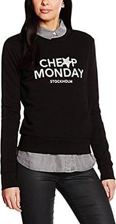 Win Doodle Logo, Sweat-Shirt Femme, Noir (Black 200), 42(Taille du Fabricant: Medium)Cheap Monday