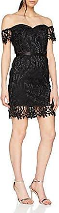 Chi Chi London Aliisa, Vestido para Mujer, Negro (Black BL), 44