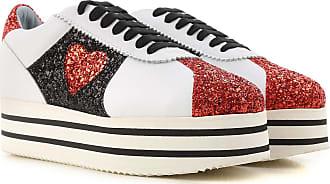 Sneakers for Women On Sale, Red, Fabric, 2017, 2.5 3.5 4.5 5.5 7.5 Chiara Ferragni