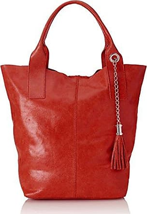 Chicca Borse 8253-nero, sac à main femme 49 cm