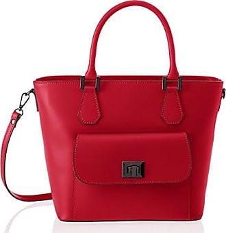 Chicca borse Sac à main femmeRougeRouge (rosso rosso), 23x19x10 cm (W x H x L) EU