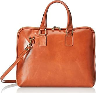Damen Handtaschen, Orange (Cuoio), 28 cm Chicca Borse