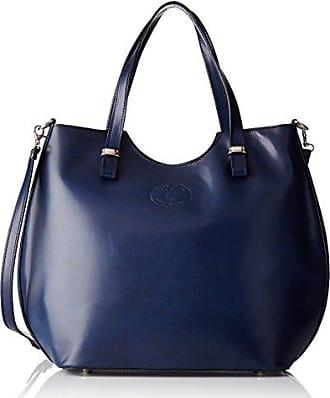 Damen Unterarmtasche, Blau (Blu), 26 cm Chicca Borse