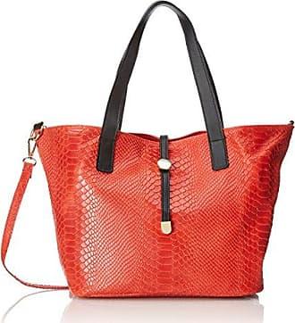 Chicca Borse 8253-beige, sac à main femme 49 cm