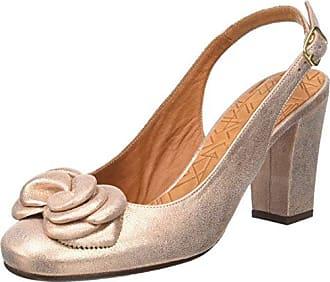 Jelly Zapatos con Tira de Tobillo Mujer, Multicolour (Ante Pizarra-Ante Oliva-Amazon Asfalto), 40 EU (7 UK) Chie Mihara