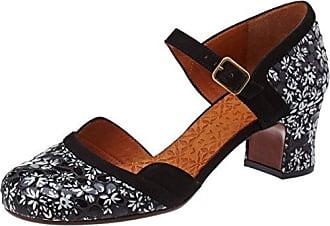 enamorada31, Zapatos de Tacón con Punta Cerrada para Mujer, Negro (Black Jean Negro), 40 EU Chie Mihara