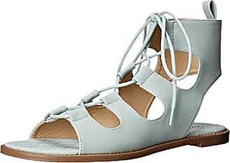 Chinese Laundry Frauen Endless Summer Spitzenschuhe Gleit Sandalen Blau Groesse 8 US/39 EU