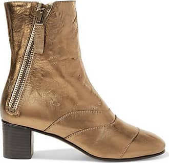 Bottines En Daim Lexie Crosta - NeutreChloé