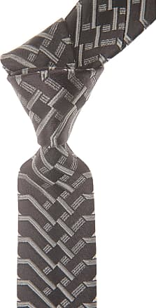 Ties On Sale, Chocolate Brown, Silk, 2017, one size Christian Lacroix