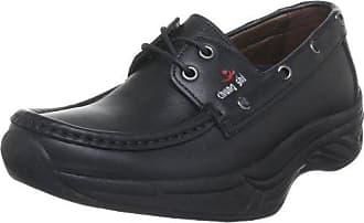 Chung Shi Sensomo II - Zapatos con Cordones de Piel Mujer, Color Negro, Talla 39