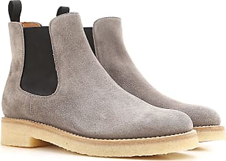 Chelsea Boots for Women On Sale, Grey, Suede leather, 2017, 3.5 4.5 7.5 Churchs