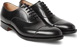 Dubai Polished-leather Oxford Shoes - BlackChurchs