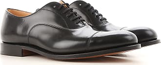 Lace Up Shoes for Men Oxfords, Derbies and Brogues On Sale, Black, Leather, 2017, 8.5 Churchs