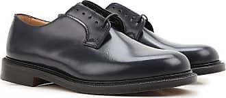 Slip On Schuh für Herren Günstig im Sale, Blau, Leder, 2017, 42 43 44.5 Churchs