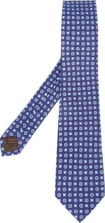 Ties On Sale, Navy Blue, Virgin wool, 2017, one size Churchs