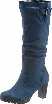 CITY WALK Stiefel, mit variablen Normalschaft, schwarz, Varioschaft, EURO-Größen, schwarz