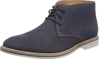 Clarks Originals Weaver Boot, Bottes Chukka Femme, Bleu (Slate Suede), 36 EU