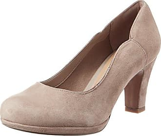 Clarks Pastina Malory, Damen Slingback Pumps, Beige (Sand Leather), 37.5 EU (4.5 Damen UK)