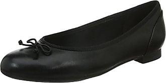 Clarks Couture Bloom, Damen Ballerinas, Schwarz (Black Leather), 39 EU (5.5 Damen UK)