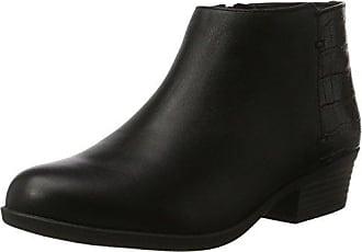 Clarks Addiy Zora, Botas Militar, Mujer, Negro (Black Leather), 35.5 EU