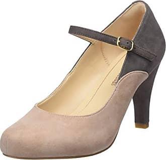Clarks Dalia Lily, Zapatos con Tacon y Correa de Tobillo Para Mujer, Negro (Black SDE), 35.5 EU