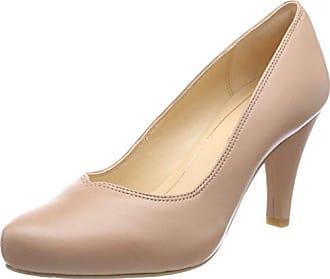Clarks Kelda Hope, Zapatos de Tacón Mujer, Beige (Pewter Metallic), 42 EU