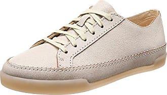 Clarks Tri Camilla, Zapatillas para Mujer, Beige (Sand Combi), 41.5 EU