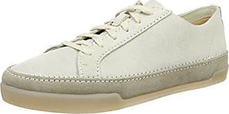 Clarks Nature IV, Zapatillas para Hombre, Blanco (White Combi), 39.5 EU