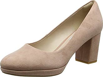 Kelda Hope, Escarpins Femme, Gris (Taupe Leather), 41.5 EUClarks