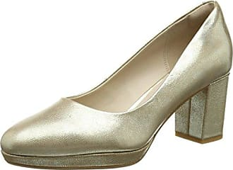 Kelda Hope, Escarpins Femme, Multicolore (Gold Metallic), 40 EUClarks