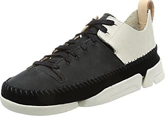 Clarks Glove Echo, Zapatillas para Mujer, Negro (Black Snake), 41 EU