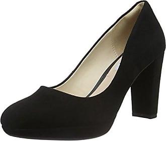Idamarie Faye, Zapatos de Tacón para Mujer, Negro (Black Leather), 41.5 EU Clarks
