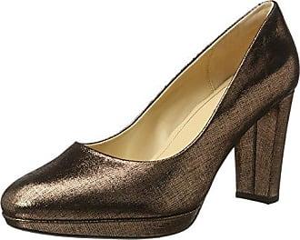 Chorus Bombay, Zapatos de Tacón para Mujer, Beige (Nude Pink Lea), 39 EU Clarks