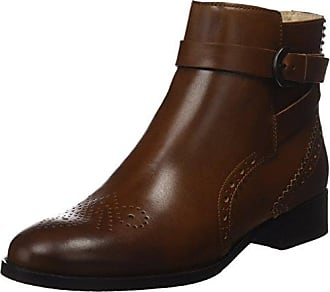 Clarks Minoa River - Botas de Moto, Mujer, Marrón (Taupe Leather), 37.5 EU