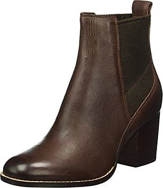 Clarks Elipsa Mae, Botines para Mujer, Marrón (Dark Tan Leather), 37 EU